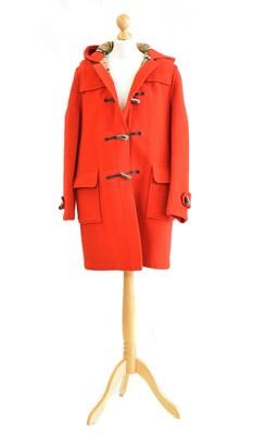 Lot 137 - A Burberry wool duffle coat