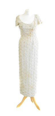 Lot 57 - A beaded evening gown by Kai-Ming