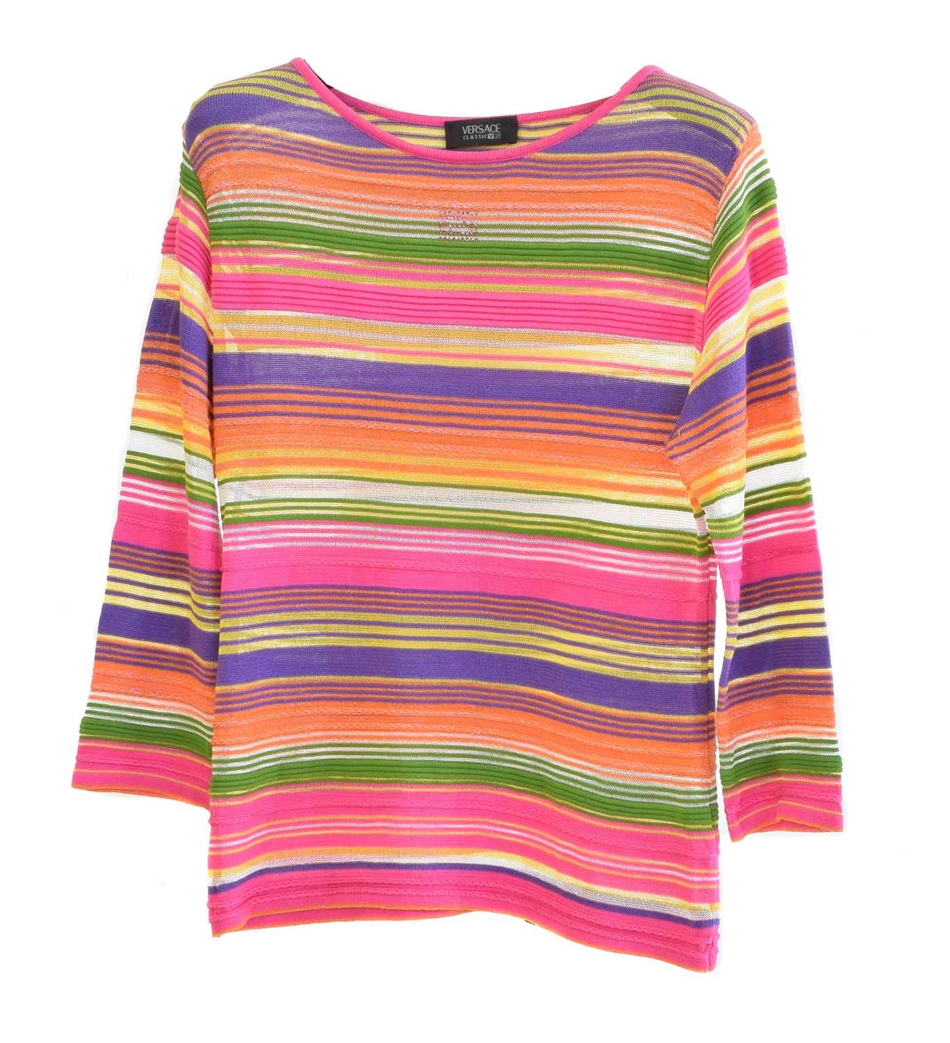 Lot 10 - A Versace Collection V2 jumper