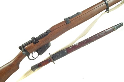Lot Denix replica of a Lee Enfield LICENCE REQUIRED