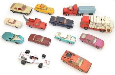 Lot 13 Corgi Diecast Cars