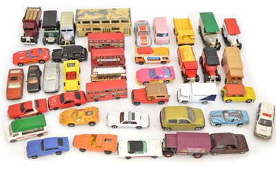 Lot Group lot of 40 Diecast toy vehicles to...
