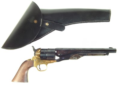 Lot 21 - Pietta Western Arms 9mm blank firing 1860 Colt revolver
