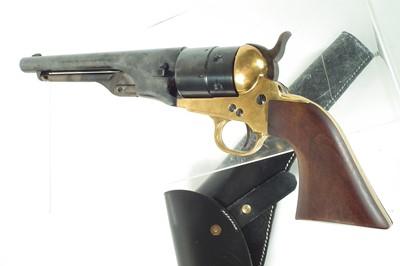 Lot 21 - Pietta Western Arms 9mm blank firing 1860 Colt revolver