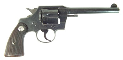 Lot Deactivated Colt Official Police .38 revolver