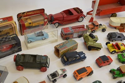 Lot A large collection of 51 diecast and model...