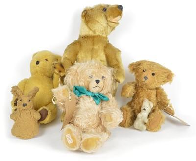 Lot 132 - Six teddy bears