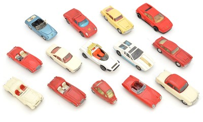Lot 14 Corgi diecast cars to include a Lotus Mark...