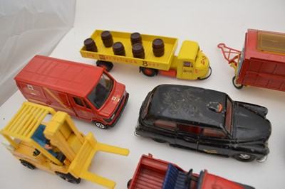 Lot Large collection of 22 Corgi diecast vehicles...