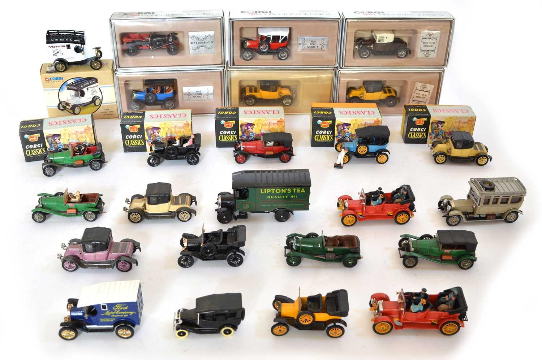 Lot 25 Corgi Classics, Collectors' Classics and...