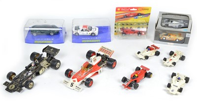 Lot 95 - 11 Racing Car Toys