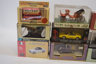 Lot A collection of 66 boxed vehicle models and...