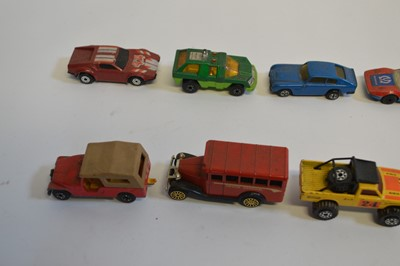 Lot A large collection of 106 unboxed diecast cars...