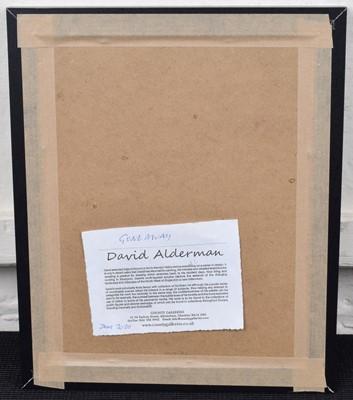 Lot 23 - David Alderman (20th/21st century)