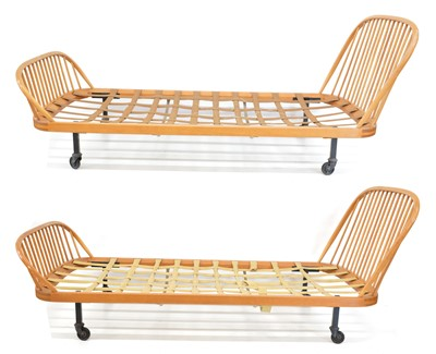 Lot Two Ercol Single Beds