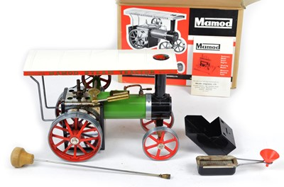 Lot 35 - Mamod TE1 live steam traction engine