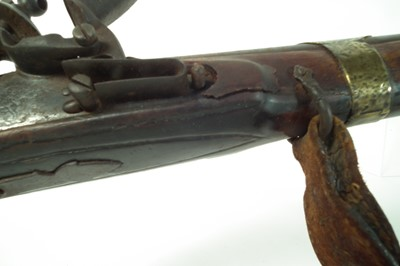 Lot 30 - Indian / Afghan flintlock Jezail