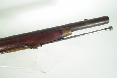 Lot Flintlock musket carbine
