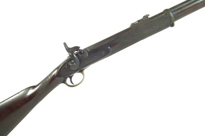 Lot Percussion volunteer .577 rifle by Vint London
