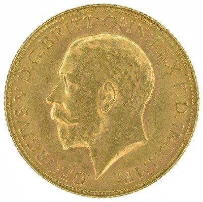 Lot 63 - King George V, Sovereign, 1918, Bombay Mint, India.
