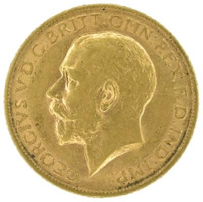 Lot 43 - King George V, Sovereign, 1912.