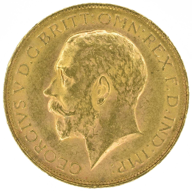 Lot 45 - King George V, Sovereign, 1926, Pretoria Mint, South Africa.