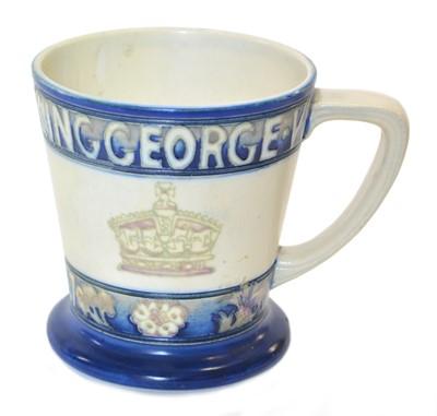 Lot 135 - Moorcroft George VI & Queen Elizabeth Coronation Mug