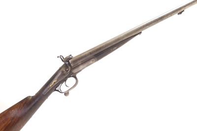 Lot 66 - Continental double barrel pinfire shotgun