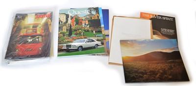 Lot A large collection of Rolls Royce ephemera