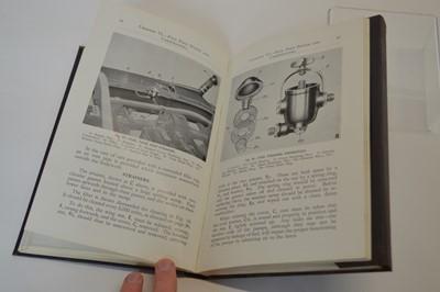 Lot Bentley 4 1/4 litre instruction book
