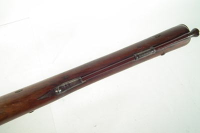 Lot 47 - Percussion blunderbuss by Wood