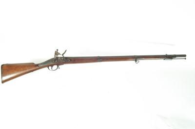Lot 46 - Belgian flintlock musket