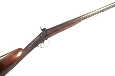 Lot 62 - Percussion double barrel shotgun
