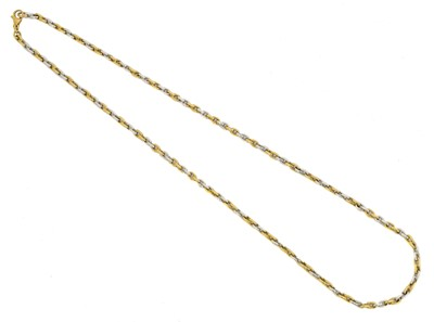 Lot 45 - An 18ct gold chain necklace