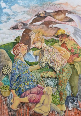 Lot 4 - Jeanne Walpole (British 1928-2011)