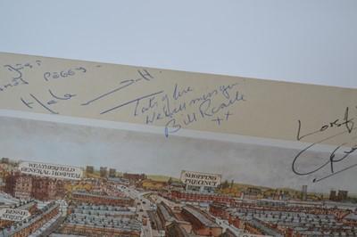 Lot 95 - Signed Coronation Street Print