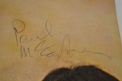 Lot 56 - Two Signed Beatles LP's by John Lennon & Paul McCartney
