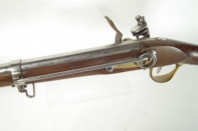 Lot 28 - Replica inert French flintlock carbine