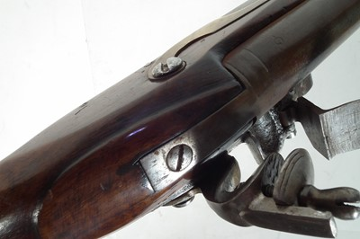 Lot 7 - Flintlock light dragoon type pistol