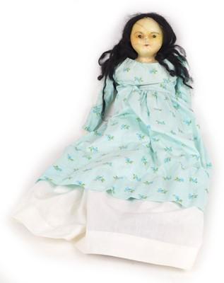 Lot 139 - Wax head doll with soft body