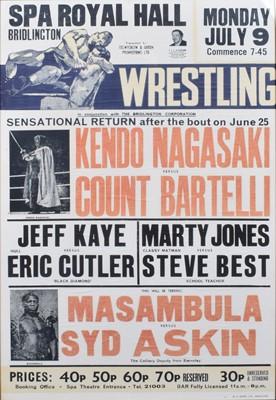 Lot 92 - Wrestling Poster