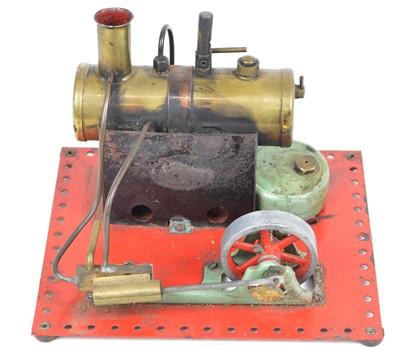 Lot 34 - Mamod stationary model steam engine