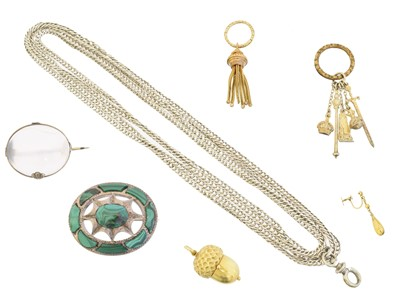 Lot 39 - A selection of jewellery