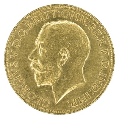 Lot 60 - King George V, Sovereign, 1918, Bombay Mint, India.