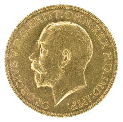 Lot 61 - King George V, Sovereign, 1918, Bombay Mint, India.