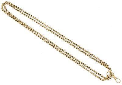 Lot 67 - A longuard chain