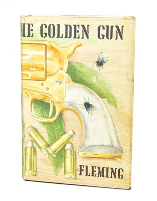 Lot 66 - The Man with the Golden Gun by Ian Fleming, First Edition.