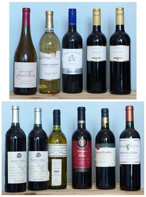 Lot 1 - 11 Bottles Mixed Lot Fine Wines to include California, Chile and Rioja