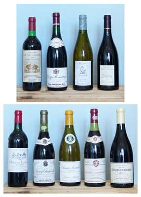 Lot 3 - 9 Bottles mixed Lot Mature 'Classed' French Fine Wines