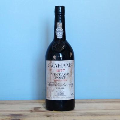 Lot 77 - 1 Bottle Graham's Vintage Port 1977 (t/s)